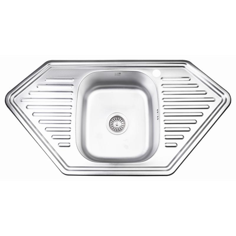 Кухонна мийка Lidz 9550-D Decor 0,8 мм (LIDZ9550DEC08)