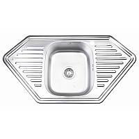 Кухонна мийка Lidz 9550-D Decor 0,8 мм (LIDZ9550DEC08), фото 1