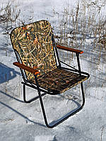 """Крісло для пікніків і кемпінгу, туристичний складаний і рибацький стілець зі спинкою """"Патріот"""" відпочинок на природі"""