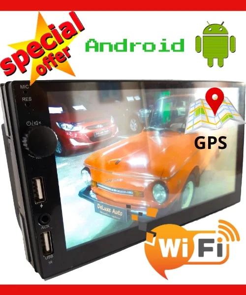 Автомагнітола 2din Pioneer 7021 Android+GPS+WiFi+4Ядра+1Gb DDR3