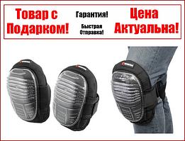 Наколенники защитные, противоскользящие накладки из ПВХ, ткань 600D, гелевые подушки INTERTOOL SP-0051