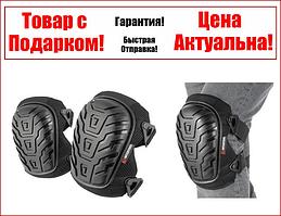 Наколенники защитные, противоскользящие накладки из ПВХ, ткань 600D, гелевые подушки INTERTOOL SP-0053