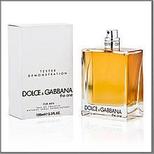 Dolce & Gabbana The One For Men туалетная вода 100 ml. (Тестер Дольче Габбана Зе Уан фор Мен)