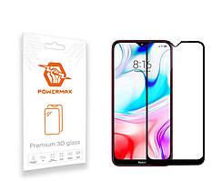 Защитное стекло Powermax 3D Premium Xiaomi Redmi 8, Redmi 8A Black (PWRMX3DXR8B)