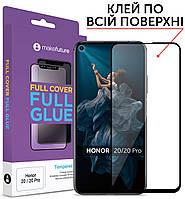 Защитное стекло MakeFuture Full Cover Full Glue Huawei Honor 20, Honor 20 Pro Black (MGF-H20)