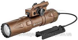 Фонарь Olight Odin mini DT с креплением M-LOK и выносной кнопкой ц:песочный