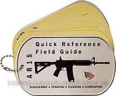 Брелок-инструкция Real Avid AR15 Field Guide