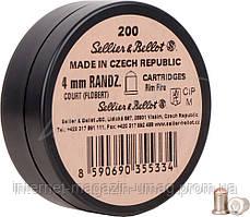 Патрон Флобера Sellier & Bellot RANDZ CURTE 4 мм 200 шт/уп.