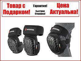 Наколенники защитные, противоскользящие накладки из ПВХ, ткань 600D, гелевые подушки INTERTOOL SP-0054
