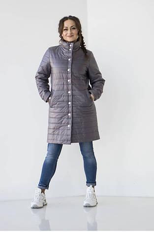 """Куртка женская  """"Кира"""" весенняя в размере 48-54, фото 2"""