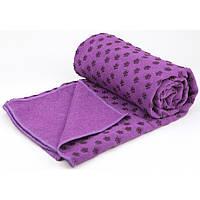 Коврик полотенце для йоги | Килимок рушник для йоги MaxFight Miracle Towel