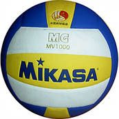 Мяч волейбольный клееный MIKASA MV-1000