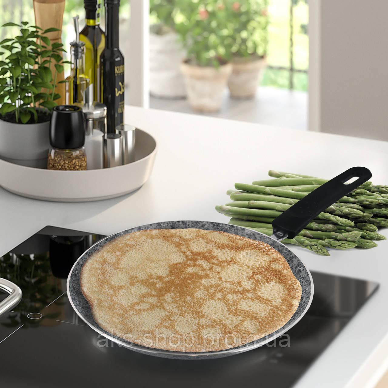 Сковорода с антипригарным покрытием для блинов Maestro MR-1221-24 диаметр 24 см