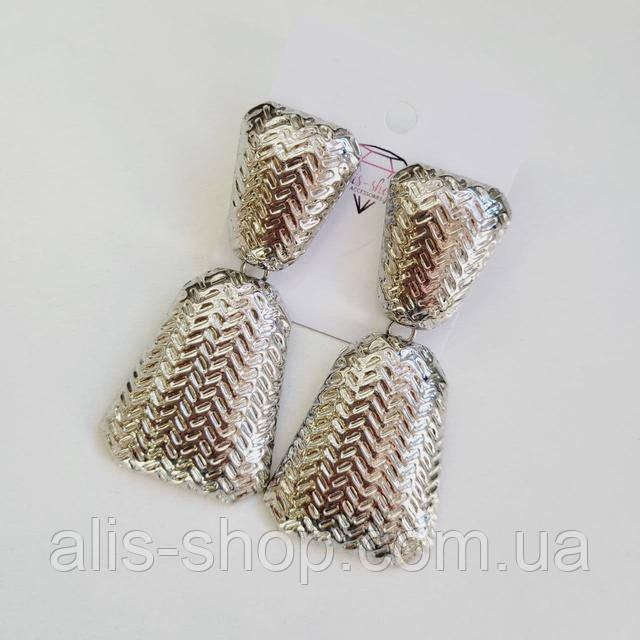 Сережки без каміння