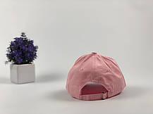 Кепка Бейсболка Мужская Женская City-A с надписью Youth с металлической застежкой Розовая, фото 2