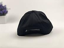 Кепка Бейсболка Мужская Женская City-A с надписью Youth с кольцами Черная, фото 2