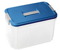 Контейнер для хранения пластиковый с ручкой 14 л 370Х220Х255 мм Curver CR-05001