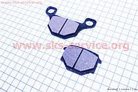 Тормозные колодки  (диск) CB125-250 (Viper 125J)