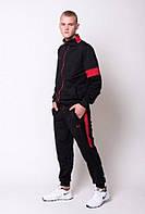 Спортивный костюм under armour черно-красный