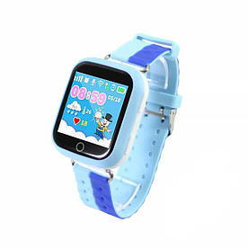 Дитячі смарт-годинник UWatch Q100S з Bluetooth Blue (2965-8319)