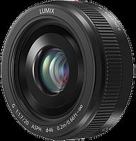 Об'єктив Panasonic Lumix G H-H020AE-K Micro 4/3 Lens 20 MM F/1.7 II ASPH