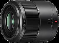 Объектив Panasonic Lumix G Macro H-HS030E Micro 4/3 Lens 30 MM F/2.8 ASPH MEGA O.I.S.
