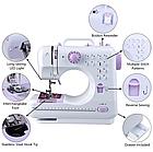 Швейная машинка 505A Портативная швейная машина Многофункциональная швейная машина, фото 4