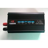 Преобразователь напряжения ( Инвертор) 12V-220 Вольт 1000 Вт