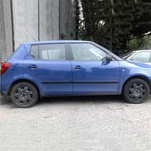 Молдинги на двери для Skoda Fabia II 5dr Hatch / Combi 2007-2014