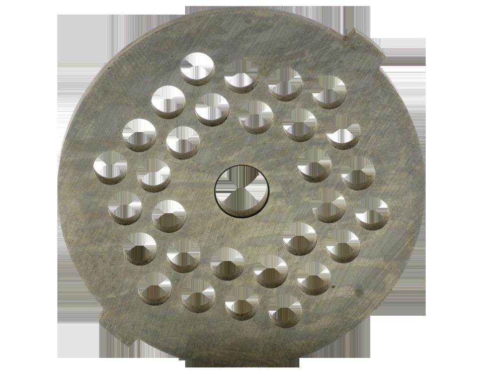 Дисковий ніж (середньозернистий) для м'ясорубки Panasonic AMM10C-180   Решітки для м'ясорубок AMM10C-180