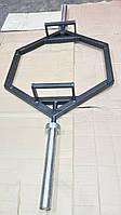 Гриф трэп восьмиугольный или рама для становой тяги (треп)