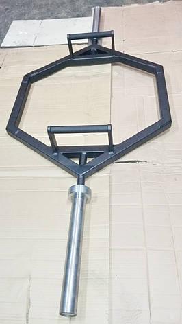 Гриф треп восьмикутний або рама для станової тяги (базікання), фото 2