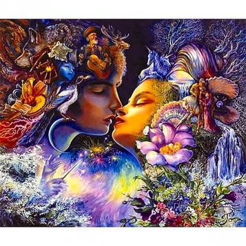 Картина по номерам 40х50 см DIY Гармония любви (FX 30414)