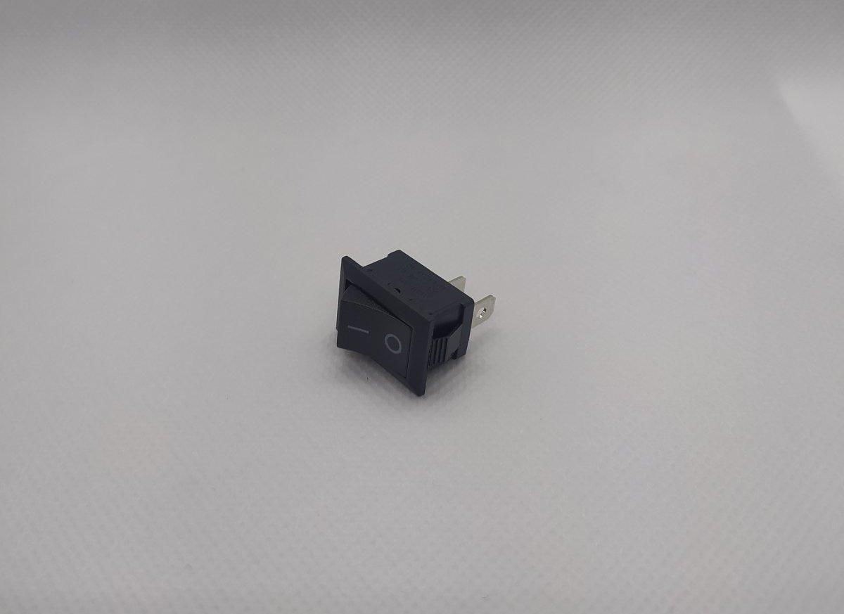 Переключатель клавишный KCD1-101 21*15мм 2pin 6A/250V