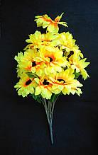Искусственные цветы Подсолнуха букет