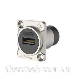 Разъем Roxtone RAU2D USB панельный