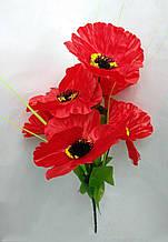 Искусственные цветы Маков букет