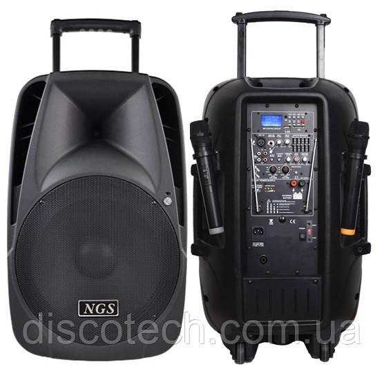 """Активна акустична система NGS PMQ12AFQ 15"""", 250Вт-350Вт"""
