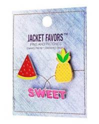 Набір значків Pins set Jacket Favors №40
