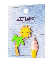 Набір значків Pins set Jacket Favors №43