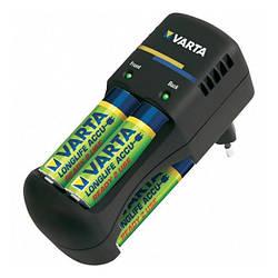 Зарядний пристрій AA/AAA Varta Pocket Charger (57642101401) Black