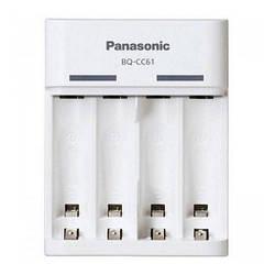 Зарядний пристрій AA/AAA Panasonic Eneloop Basic BQ-CC61 USB + Eneloop 2xAA 1900 mAh (K-KJ61MCC40U