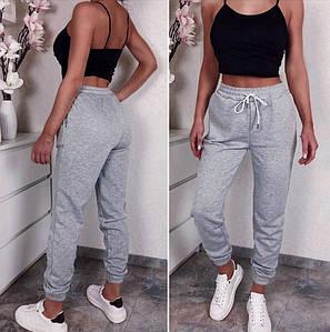 Серые спортивные штаны (Код MF-502)