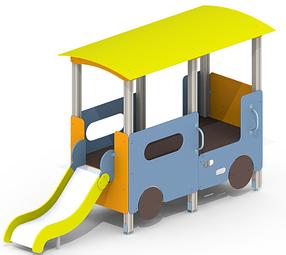 Детская горка Трамвайчик A52
