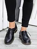 Черные женские туфли кожа, фото 4