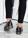 Черные женские туфли кожа, фото 5