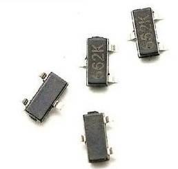 Стабілізатор XC6206P332MR (662K), 3.3 200мА, SOT23