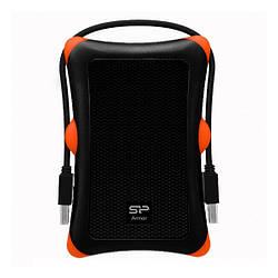 Карман зовнішній Silicon Power Armor A30 Black USB3.0 (SP000HSPHDA30S3K)