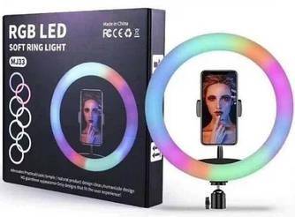 Селфи-кільце USB Led RGB MJ33