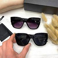 Жіночі сонцезахисні окуляри метелики Шанель репліка, фото 1